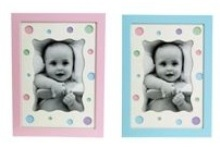 Photo Display Box - 24 frames (12 Blue, 12 Pink) 12 * 9 cms