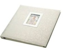 Fabric Wedding Picture Album - self adhesive - 300 photos