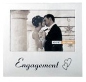 Engagement Photo Frame Silver (4 * 6 inch)