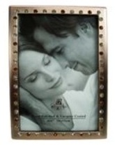 Copper Plated Picture Frame - Muti Coloured Crystals (4 * 6 inch