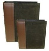 Suede Photo Album 100 Photos - Olive (4 * 6 inch)