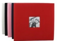 Photo Album - scrapbook Fabric - Available in Red, Cream, Black,