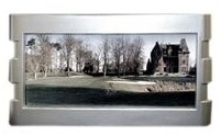Panoramic Photo Frame - silver Plated