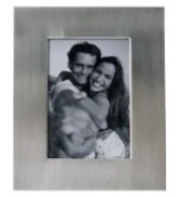 Brushed silver Photo Frame (4 * 6 inch)