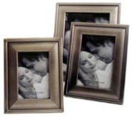 Brushed Nickel Plated Picture Frame (6 * 8 inch)