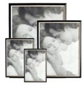 Wooden Photo Frame with Silver Trim (8 * 10 inch)