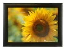 Black Wooden Photo Frame with Perspex - 4 Windows (12 * 16 inch)