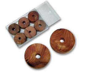 CEDAR HANGER RINGS (12 PER BOX)