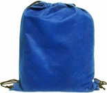 Non-Woven String Bag Available in: Black , Blue