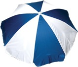 Beach Umbrella Available in: Blue White