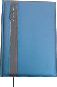 Satin Diary A4  Available in: Blue