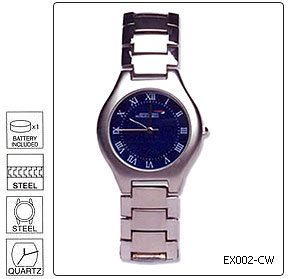 Fully customisable Standard Metal Executive Wrist Watch - Design