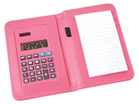 Abacus Calculator Notepad - Pink