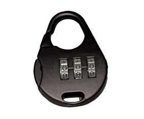 Promo Combination Lock Black