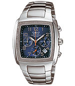 CASIO 100M EDIF RECT 1 HR CHRON