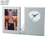 Tiffany Photo Frame Clock