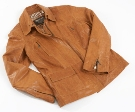 Jekyll & Hide Leather Jacket JH50 - Tan, Organic Sheep ( up to X