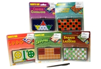 Toy 6 Assorted Magnetic Games - Min Order - 10 Units
