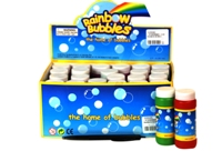 Toy 2 Oz Rainbow Bubble 24 Per Display - Min Order - 10 Units