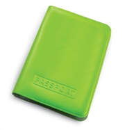 Budget Passport Holder - Available in Blue, Yellow, Lime or Red