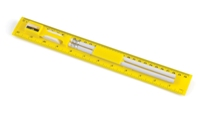 Student Ruler and Pencil Set - Yellow