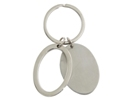 Dual Oval Keyring in Gift Box