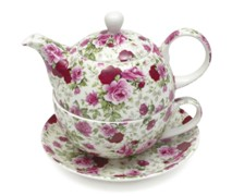 Maxwell & Williams Cz Tea For One Rose Bud Gb - Min Orders Apply