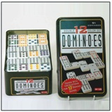 91 Dominoes in Tin - 12 Double