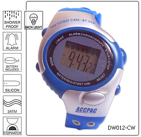 Fully customisable Multi Function Digital Wrist Watch - Design 6