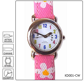 Fully customisable Kids Wrist Watch - Design 1 - Manufactured to