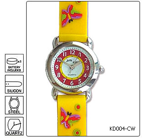 Fully customisable Kids Wrist Watch - Design 4 - Manufactured to