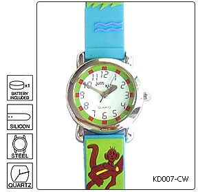Fully customisable Kids Wrist Watch - Design 7 - Manufactured to