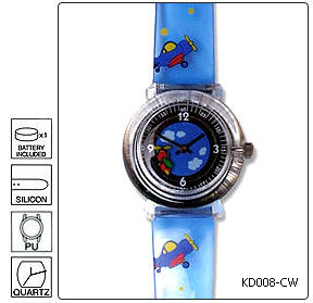 Fully customisable Kids Wrist Watch - Design 8 - Manufactured to