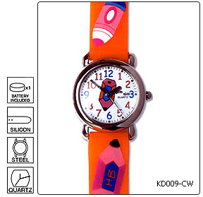 Fully customisable Kids Wrist Watch - Design 9 - Manufactured to