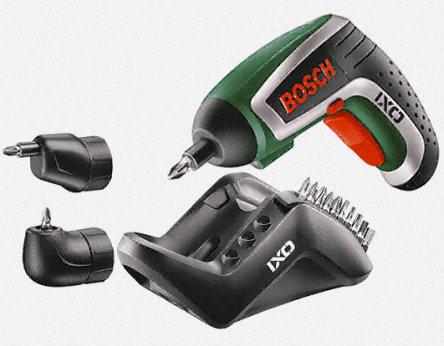 bosch 0 ixo iv set lithium ion cordless screwdriver 3 6 v bosch038 by bosch corporate. Black Bedroom Furniture Sets. Home Design Ideas