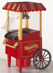 fashioned time popcorn machine