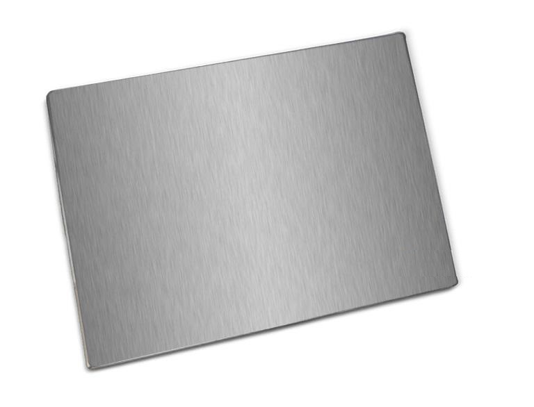 White glossy poster board