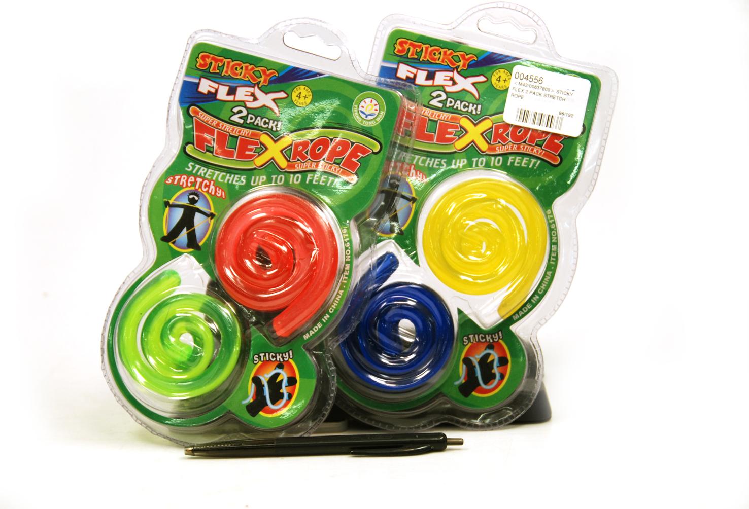 Sticky Amp Stretchy Toys : Toy sticky flex pack stretch rope min order units