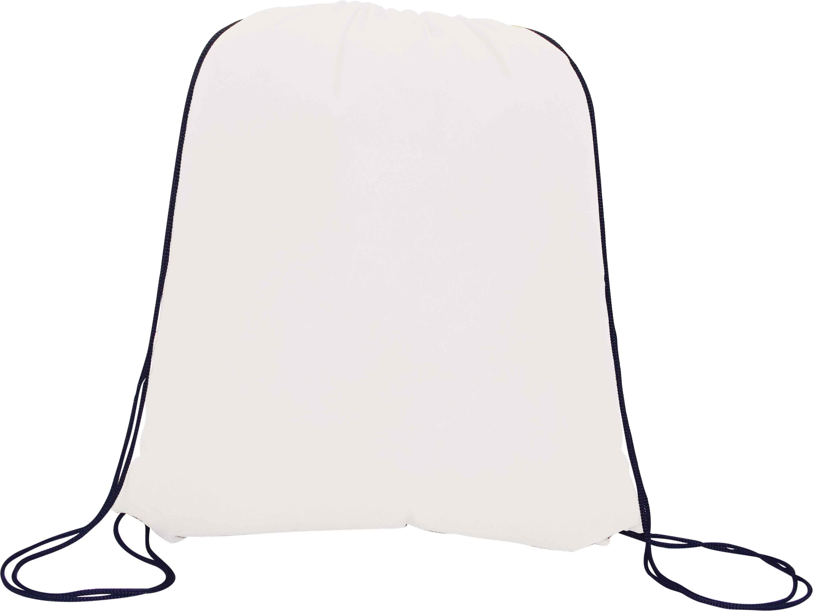 Drawstring Bag (White) - Min Order 100