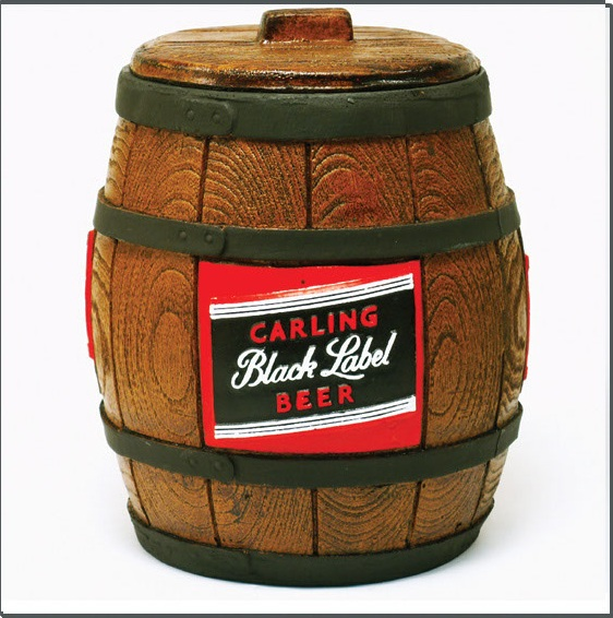 24cm Black Label Ice Bucket TAN KAM031 Perkal