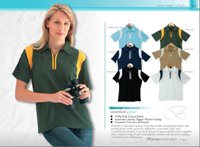 195G Quarter Zip Ladies Golf Shirt
