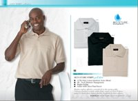 175G Signature StripeMoisture Management Golf Shirt Range