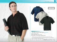 155G Squared Double MercerisedMercerised Cotton Golf Shirt