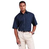 Mens Pioneer Check Lounge Shirt - Long Sleeves