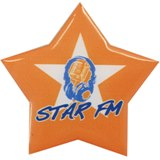 Star badge - full color with magnet