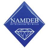 Diamond badge - full color with magnet
