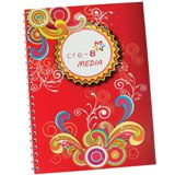 Spiral bound notepad A4 (Fully Customised Branding Option Availa