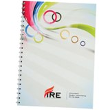 Spiral bound notepad A5 (Fully Customised Branding Option Availa