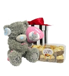 Happy Birthday Balloon Tatty Teddy (Standard) Hamper