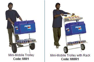 Mini Mobile Trolley